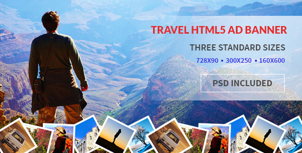 Tours and Travel | HTML5 Google Ad - CodeCanyon Item for Sale