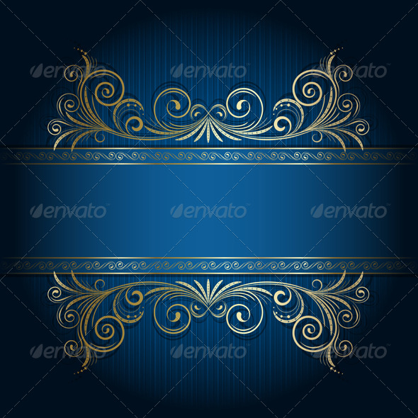 Retro frame - Backgrounds Decorative