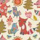 Russian Tales Inspired Fox Pattern  - GraphicRiver Item for Sale