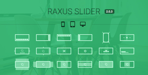 Raxus Slider / Easy-to-Use Advanced HTML5 Slider - CodeCanyon Item for Sale