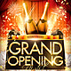 Grand Opening Night Flyer - GraphicRiver Item for Sale
