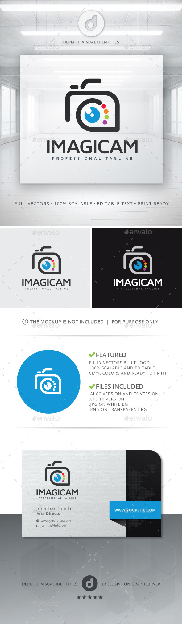 Imagicam Logo - Symbols Logo Templates