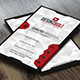 RedBolt Modern Business Card - GraphicRiver Item for Sale