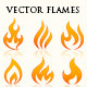 Flames Illustrations - GraphicRiver Item for Sale