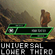 Universal Lower Third - VideoHive Item for Sale