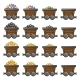 Mine Carts - GraphicRiver Item for Sale