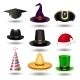 Party Hat Set - GraphicRiver Item for Sale