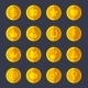 Set of Gold Coins - GraphicRiver Item for Sale