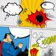 Retro Comic Book Speech Bubbles - GraphicRiver Item for Sale