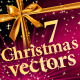 7 Christmas Vector designs - GraphicRiver Item for Sale