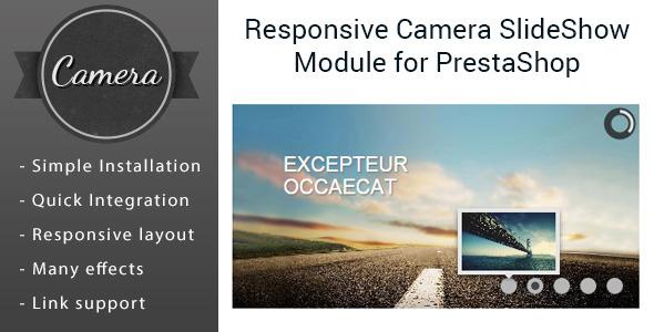 Responsive Camera Slider Images Module for PrestaShop - CodeCanyon Item for Sale