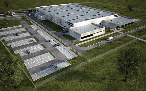 Industrial Building Full Scene (Render Ready) - 3DOcean Item for Sale