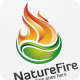 Nature Fire - Logo Template - GraphicRiver Item for Sale