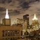 New York Skyline Manhattan Night 1