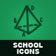 Hand Drawn School Icons - GraphicRiver Item for Sale
