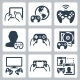 Gaming Icons - GraphicRiver Item for Sale