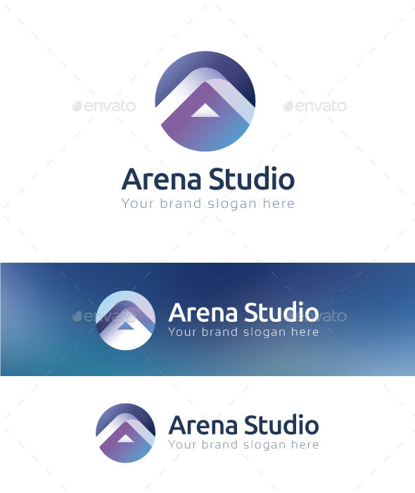 Arena Studio Logo Template - Letters Logo Templates
