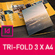 Brochure 3xA4 Tri-fold Indesign Template Set - GraphicRiver Item for Sale