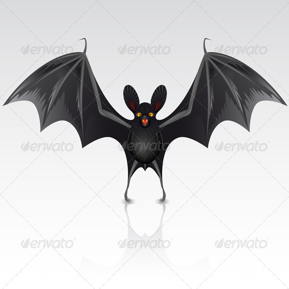 Black bat - Halloween Seasons/Holidays