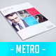 Metro Style Newsletter - GraphicRiver Item for Sale