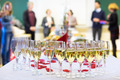 Banquet event. Waiter pouring champagne into glass. - PhotoDune Item for Sale