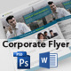 Corporate Flyer (PSD & MS Word) - GraphicRiver Item for Sale