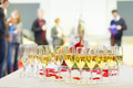 Banquet event. Champagne on table. - PhotoDune Item for Sale