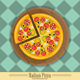 Pizza and The Ingredients for Pizza - GraphicRiver Item for Sale
