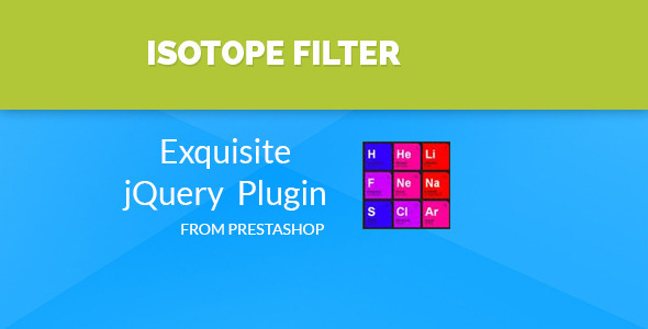Isotope - Prestashop Filter - CodeCanyon Item for Sale
