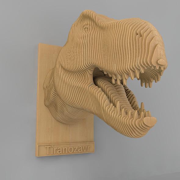 Tiranozavr - 3DOcean Item for Sale