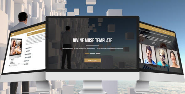 Divine – Multipurpose Muse Template