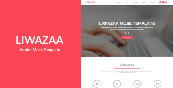 Liwazaa - Multi-purpose Muse Template