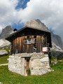 Wooden log cabin in the Dolomites - PhotoDune Item for Sale