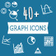 40+ Diagram and Graphs Icons - GraphicRiver Item for Sale