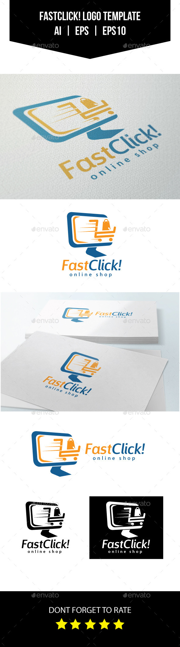 Online Shop Logo Template By Aninfloat Graphicriver