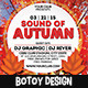 Sound of Autumn Flyer Template - GraphicRiver Item for Sale