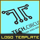 Tech Circuit - Logo Template - GraphicRiver Item for Sale
