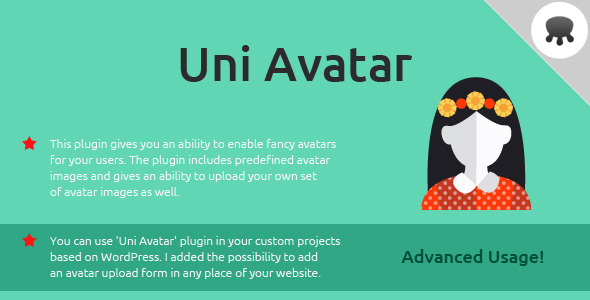 Uni Avatar - WP Avatar Manager Plugin - CodeCanyon Item for Sale