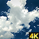 Clouds Developing Against Deep Blue Sky - VideoHive Item for Sale