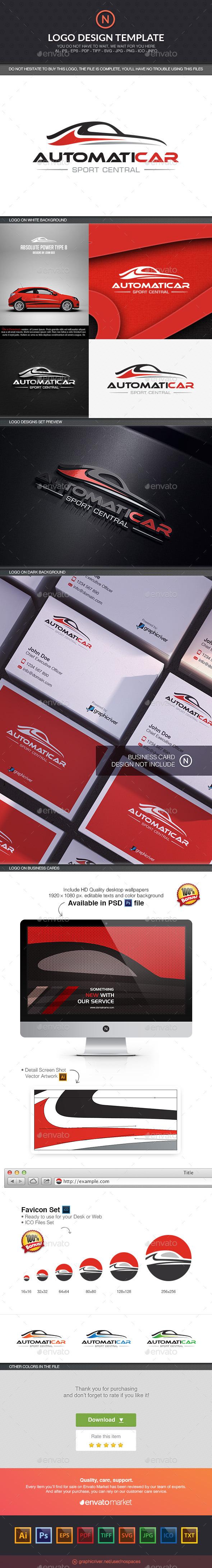 Automotive Line - Objects Logo Templates