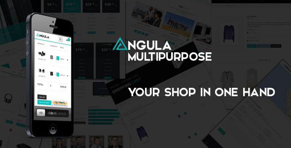 ANGULA – Multipurpose Template