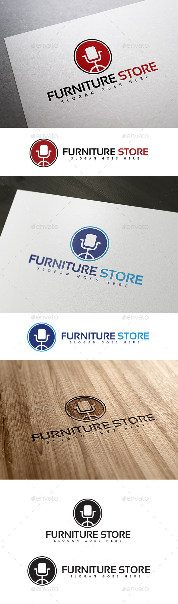 Furniture & Interior Logo - Symbols Logo Templates