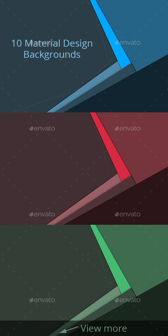 10 Material Design Backgrounds - Abstract Backgrounds