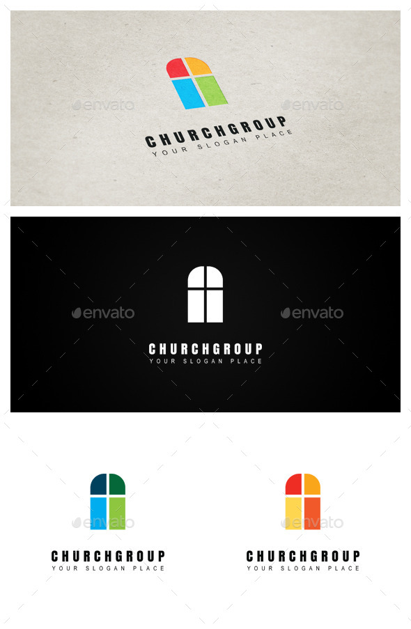 Churchgroup - Objects Logo Templates