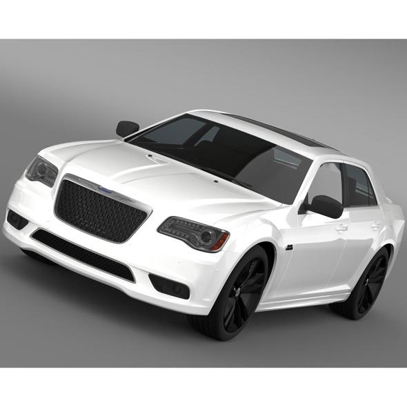 Chrysler 300 SRT8 Satin Vapor LX2 2014 - 3DOcean Item for Sale