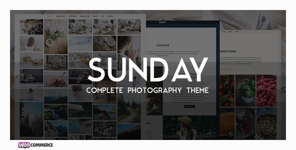 Sunday - A Complete Photographer WP Theme - Photography Creative