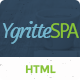 Ygritee Spa- Beauty Salon HTML Template - ThemeForest Item for Sale