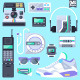 Retro Gadgets & Devices - GraphicRiver Item for Sale