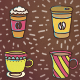 Coffee Pattern - GraphicRiver Item for Sale