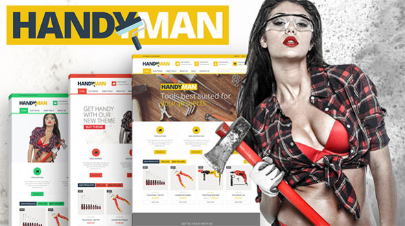 Handyman – PrestaShop Business Construction Theme